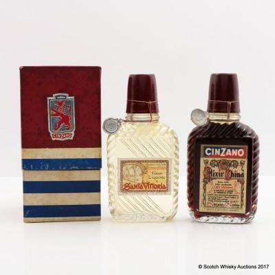 Cinzano Elixir China & Gran Liquore di Santa Vittoria 2 x 10cl