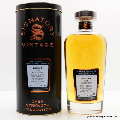 Bowmore 1998 16 Year Old Signatory