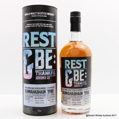 Bunnahabhain 1980 Rest & Be Thankful Whisky Co