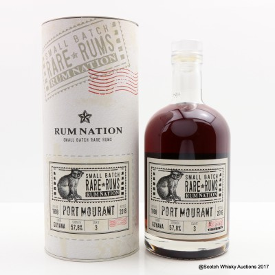 Port Mourant 1998 Guyana Rum Rum Nation