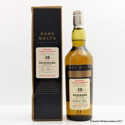 Rare Malts Rosebank 1979 20 Year Old