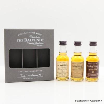 Balvenie Tasting Collection 3 x 5cl