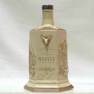 R Carmichael Masters 28 Year Old Decanter