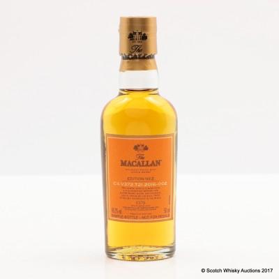 Macallan Edition No2 Mini 5cl