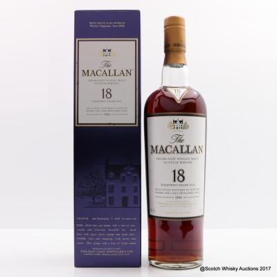 Macallan 18 Year Old 1988