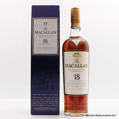 Macallan 18 Year Old 1992