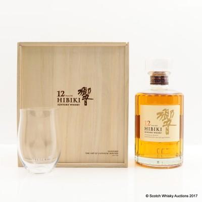 Hibiki 12 Year Old 50cl & Glass