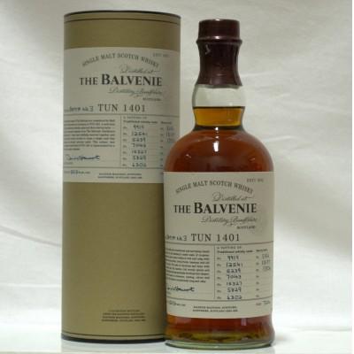 Balvenie Tun 1401 Batch #3 750ml