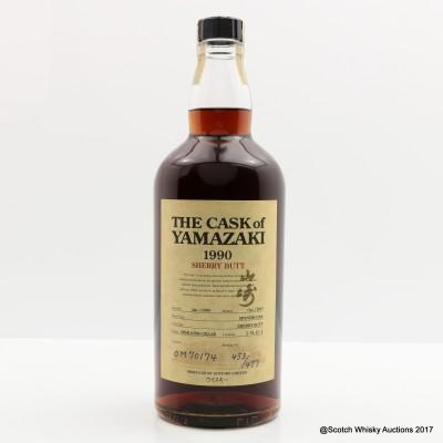Yamazaki 1990 'The Cask' Sherry Butt