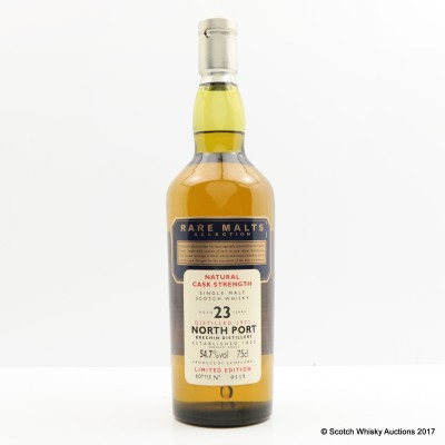 Rare Malts North Port 1971 23 Year Old 75cl