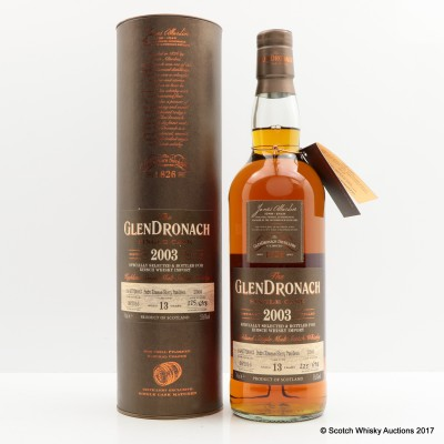GlenDronach 2003 13 Year Old Single Cask #2360