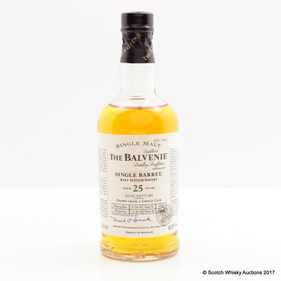 Balvenie 1978 25 Year Old Single Barrel 20cl