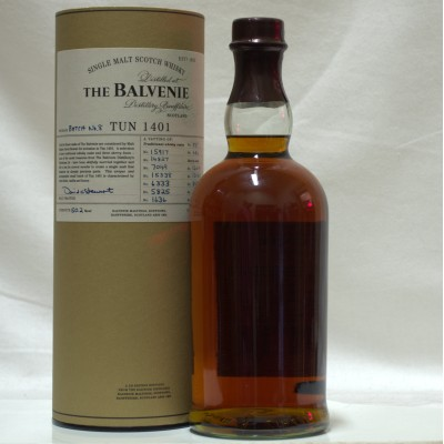 Balvenie Tun 1401 Batch #8 (No Front Label)