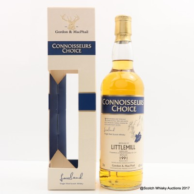 Littlemill 1991 Connoisseurs Choice
