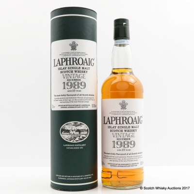 LAPHROAIG FEIS ILE 2007 1989 17 YEAR OLD