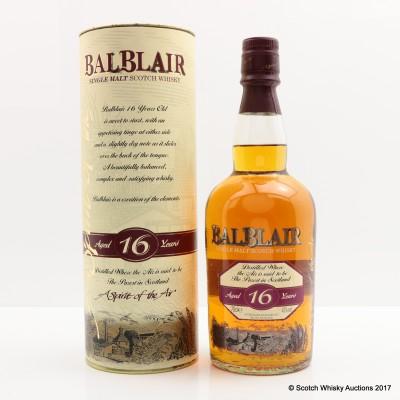 Balblair 16 Year Old