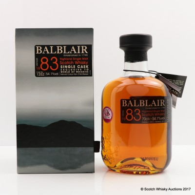 Balblair 1983 Single Cask #1252