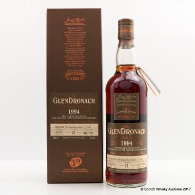 GlenDronach 1994 21 Year Old Single Cask #1189