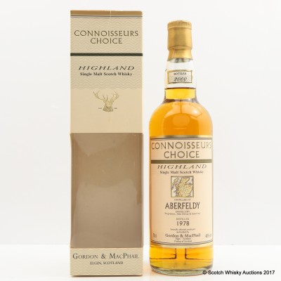 Aberfeldy 1978 Connoisseurs Choice