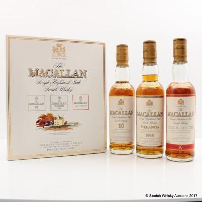 Macallan Gift Set 3 x 33cl