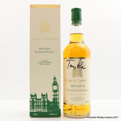 House of Commons Blend Signed by Tony Blair