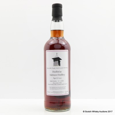 Aultmore 1990 25 Year Old Whisky Broker
