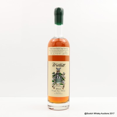 Willett Single Barrel Rye 4 Year Old 75cl