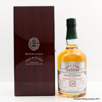 Longmorn 1985 30 Year Old Old & Rare