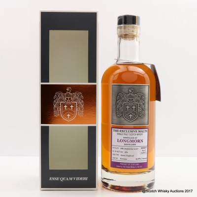 Longmorn 2007 9 Year Old Exclusive Malts