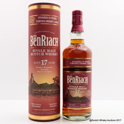 BenRiach 17 Year Old PX Sherry Finish