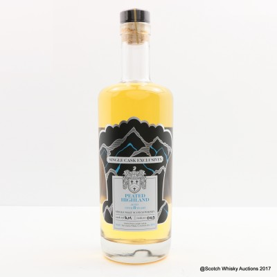 Highland Peated Malt 8 Year Old Single Cask Exclusives Creative Whisky Co