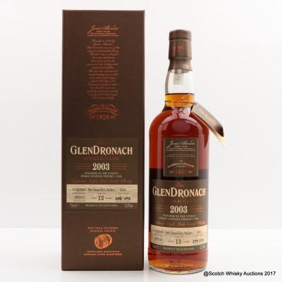 GlenDronach 2003 13 Year Old Single Cask #4034