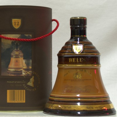 Bell's Decanter Brown & Tan