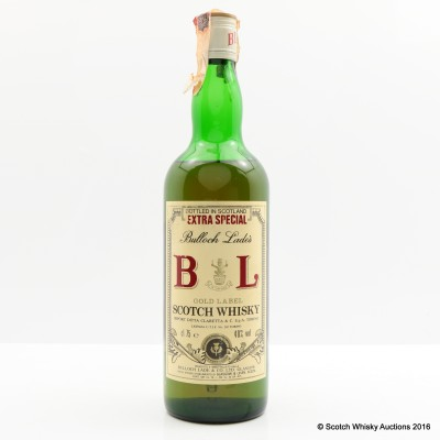 Bulloch Lade's Gold Label 75cl
