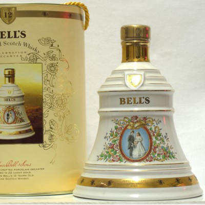 Bell's Decanter 12 Year Old Joyous Wedding 75cl Boxed