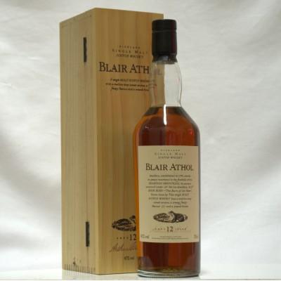 Flora & Fauna Blair Athol 12 Year Old Boxed
