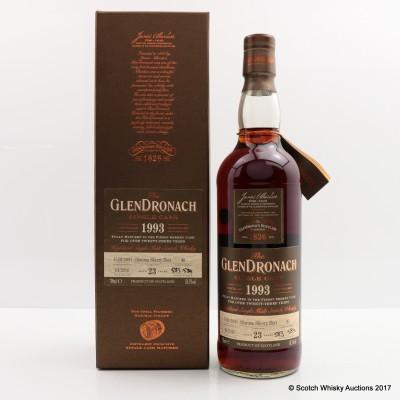 GlenDronach 1993 23 Year Old Single Cask #40