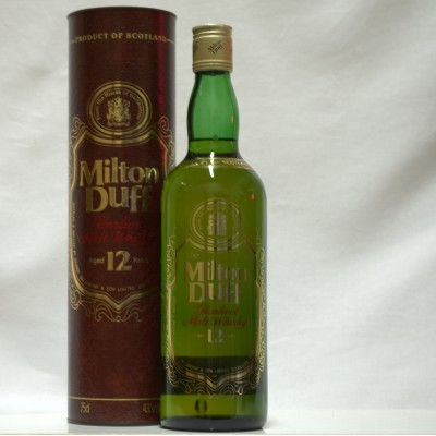 Milton Duff 12 Year Old 75cl