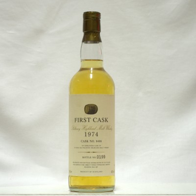 Old Pulteney 1974 19 Year Old First Cask