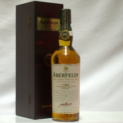 Aberfeldy 25 year old Limited Release