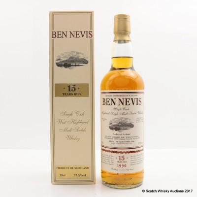 Ben Nevis 1996 15 Year Old Single Cask #1653