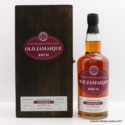 Old Jamaique Rhum 1977 35 Year Old