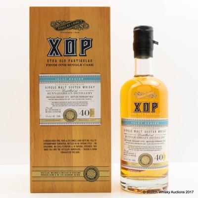 Bunnahabhain 1975 40 Year Old XOP