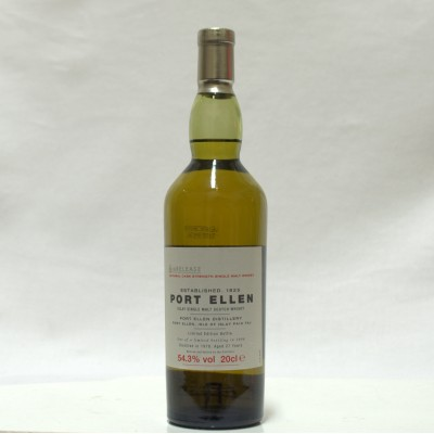 Port Ellen 1978 6th Release 20cl