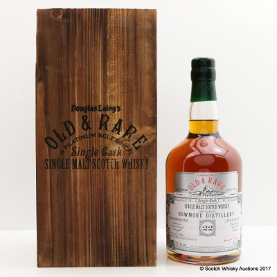 Bowmore 1987 22 Year Old Douglas Laing's Old & Rare