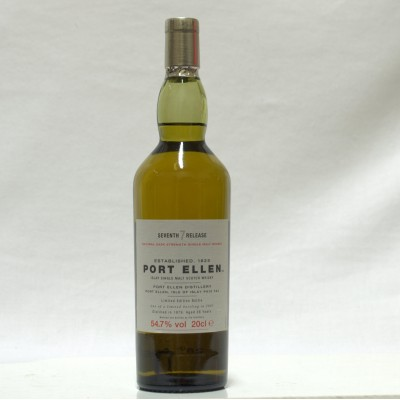 Port Ellen 1979 7th Release 20cl