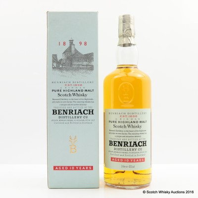 BenRiach 10 Year Old 1L
