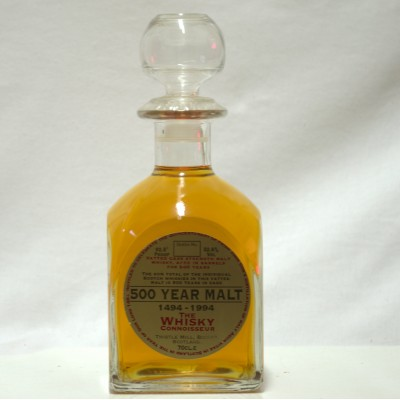 The Whisky Connoisseur 500 Year Malt Decanter