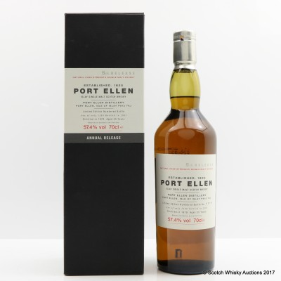 Port Ellen 1979 25 Year Old 5th Annual Release