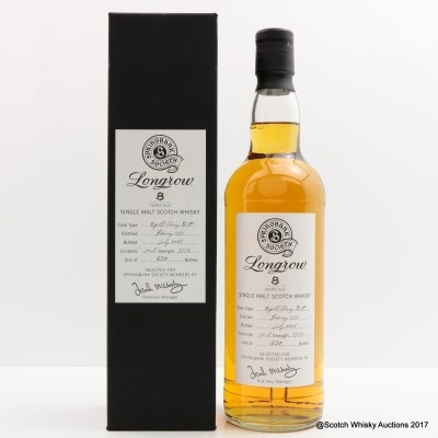Longrow 1997 8 Year Old Society Bottling